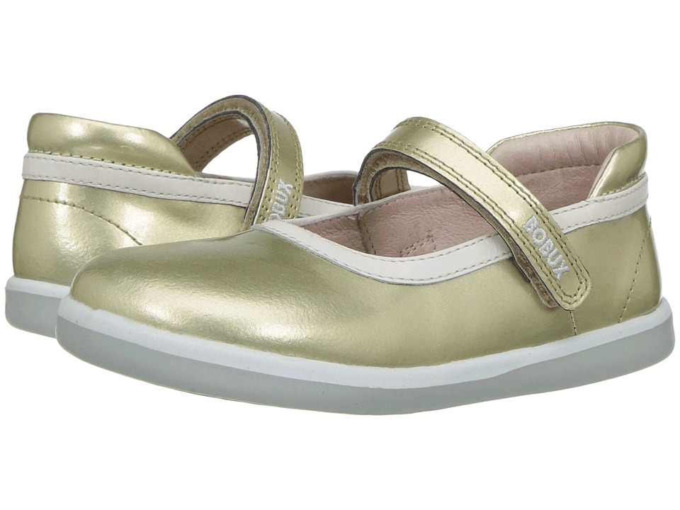 Bobux Kids I-Walk Classic Twirl (Toddler) (Gold) Girl's Shoes