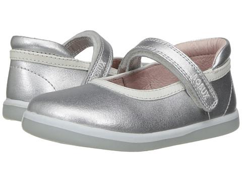 Bobux Kids I-Walk Classic Twirl (Toddler) - Silver