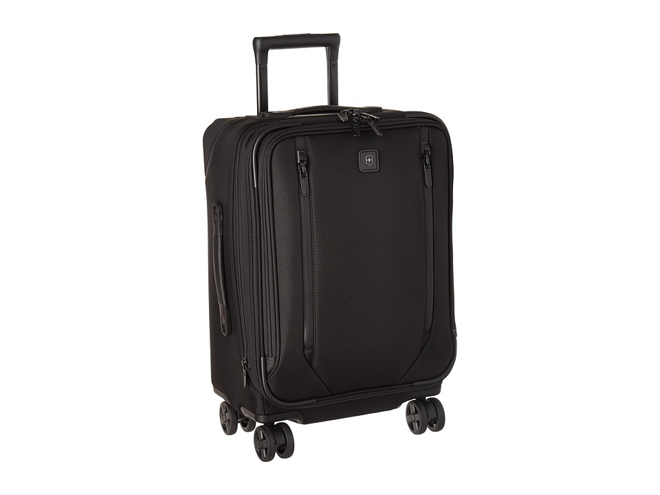 Victorinox - Lexicon 2.0 Dual-Caster Global Carry-On (Black) Carry on Luggage