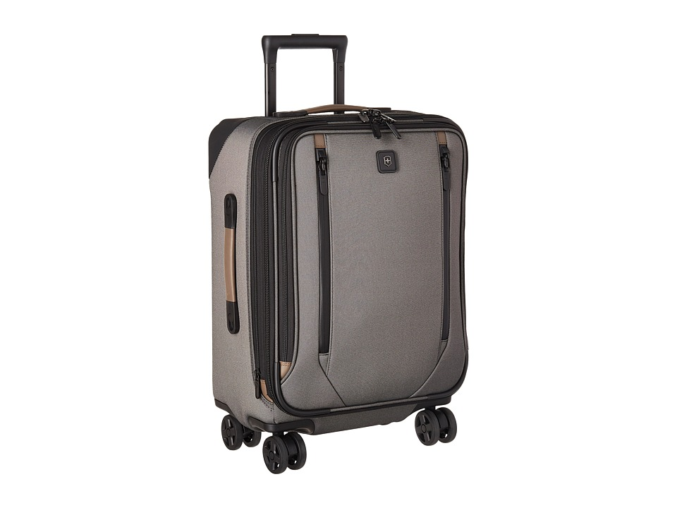 Victorinox Lexicon 2.0 Dual-Caster Global Carry-On (Grey) Carry on Luggage