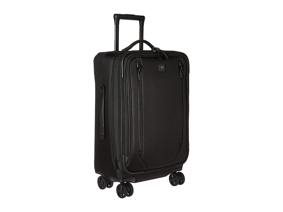 Victorinox Lexicon 2.0 Dual-Caster Large Carry-On (Black) Carry on Luggage
