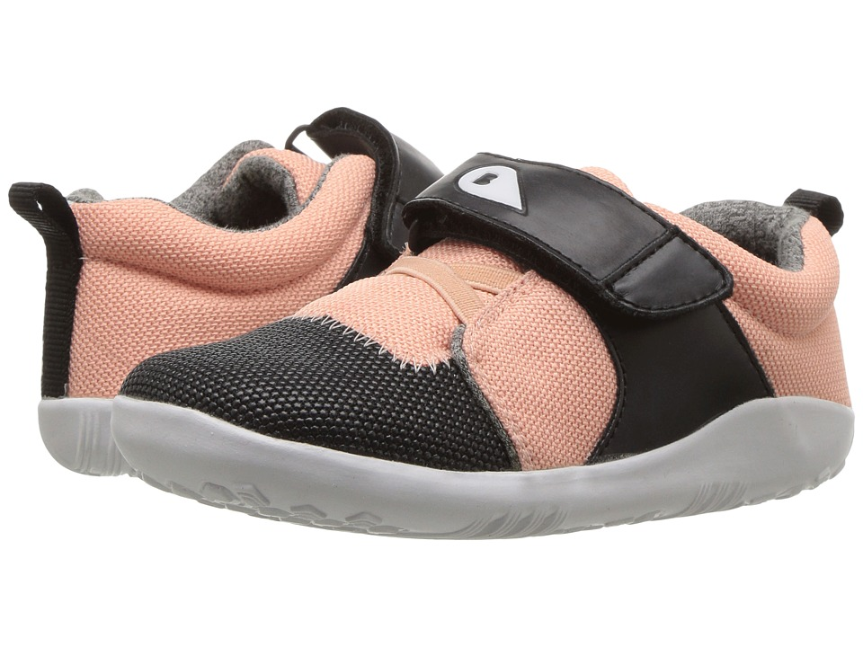 Bobux Kids I-Walk Play Blaze (Toddler) (Pink/Black/White) Girl's Shoes