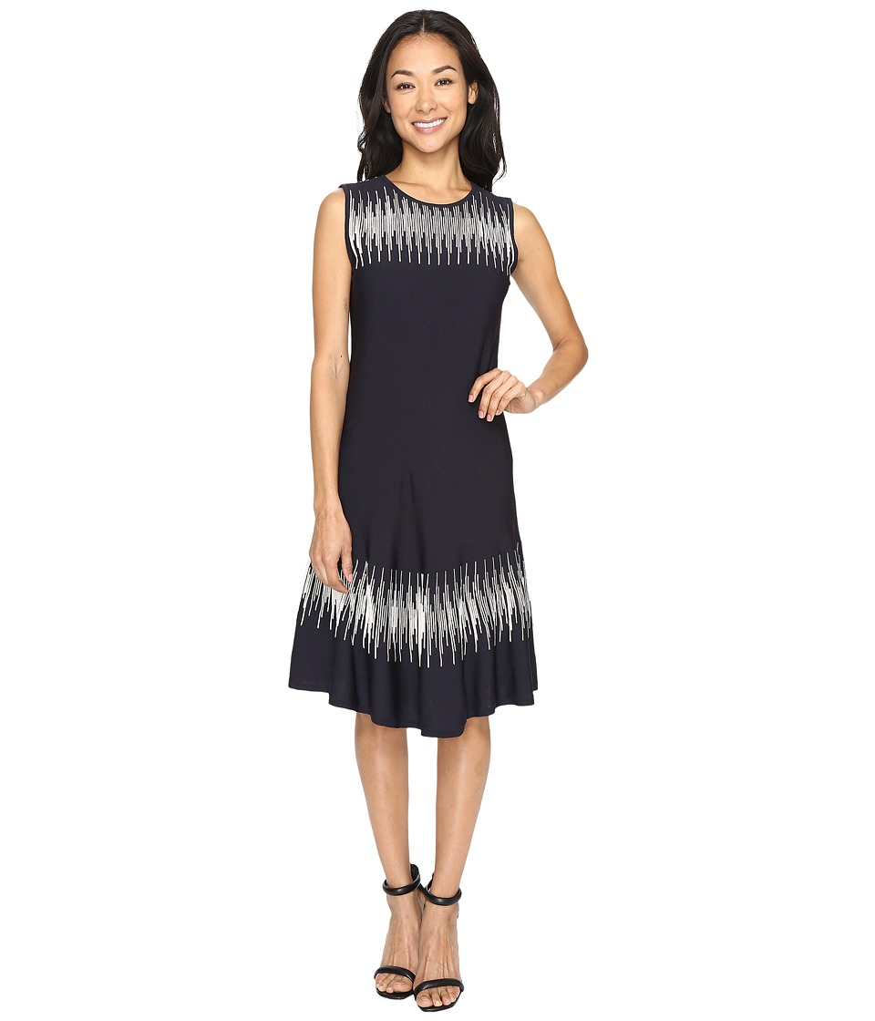 NIC+ZOE Breaking Waves Twirl Dress (Multi) Women