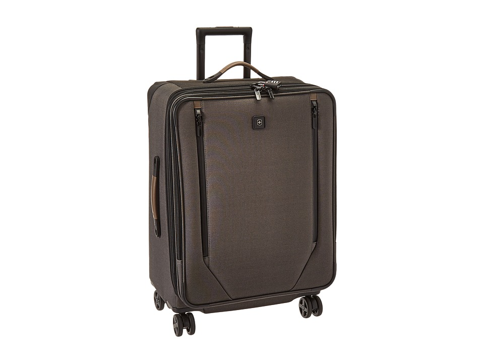 Victorinox - Lexicon 2.0 Dual-Caster Medium Packing Case (Grey) Luggage