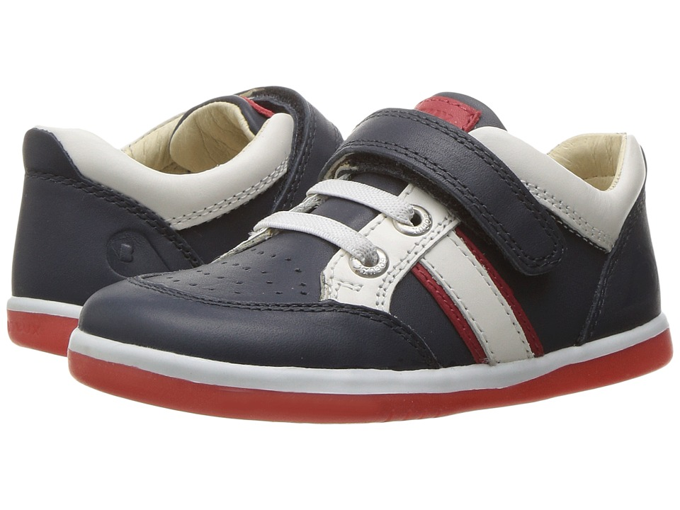 Bobux Kids I-Walk Classic Race (Toddler) (Navy) Boy's Shoes