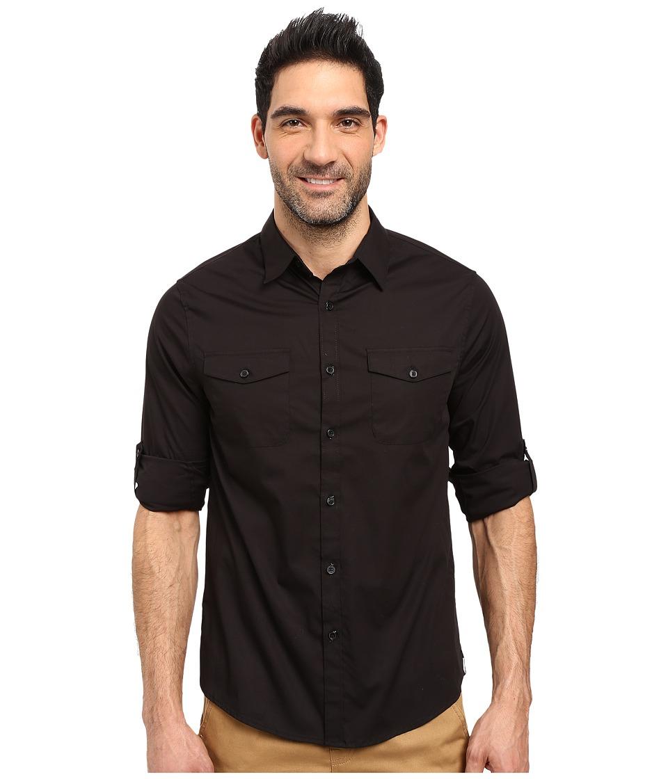 Kenneth Cole Sportswear - Long Sleeve Stretch Military