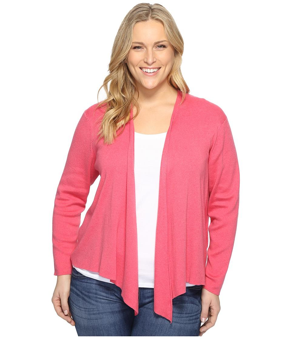 NIC+ZOE Plus Size 4-Way Cardy (French Rose) Women