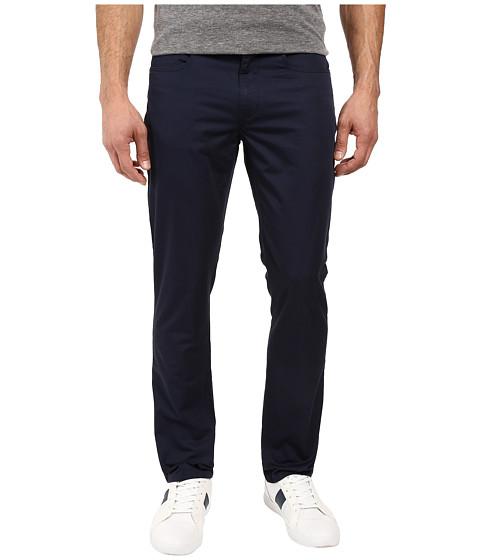 Kenneth Cole Sportswear Sateen Five-Pocket Pants - Indigo