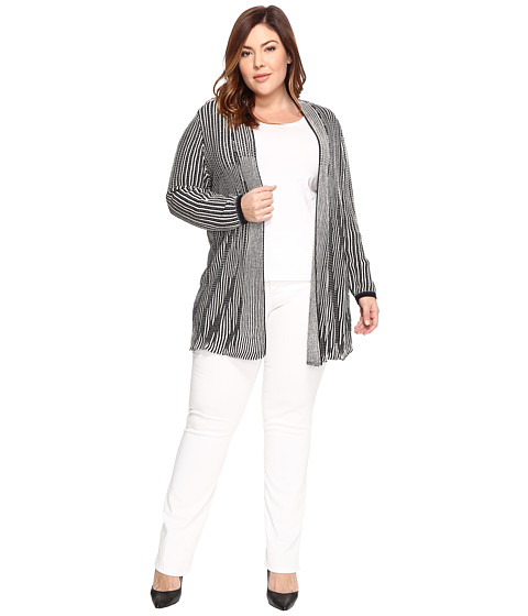 NIC+ZOE Plus Size Digital Motif Cardy - Multi