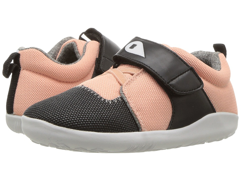 Bobux Kids Kid+ Play Blaze Plus (Toddler/Little Kid) (Pink/Black/White) Girl's Shoes