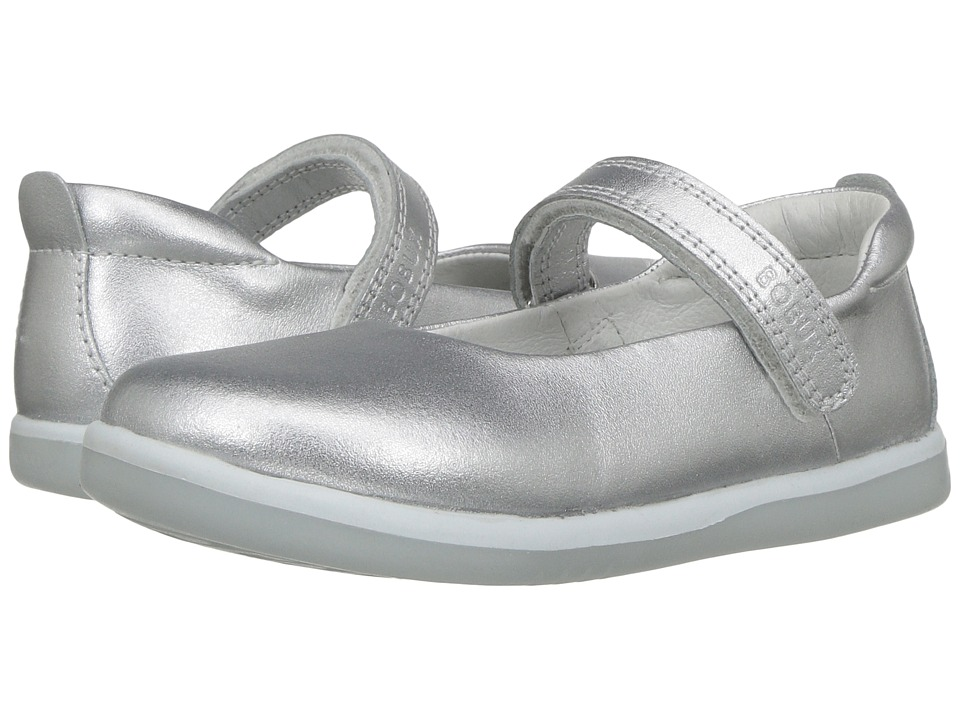 Bobux Kids Kid+ Classic Swirl (Toddler/Little Kid) (Silver) Girl's Shoes