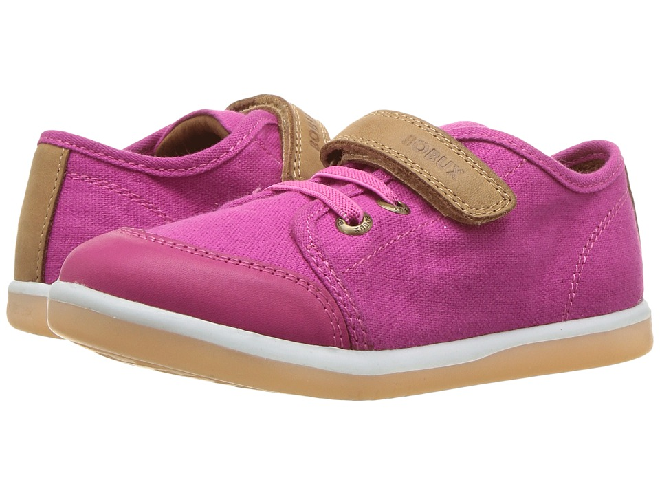 Bobux Kids Kid+ Classic Chill (Toddler/Little Kid) (Fuchsia) Girl's Shoes