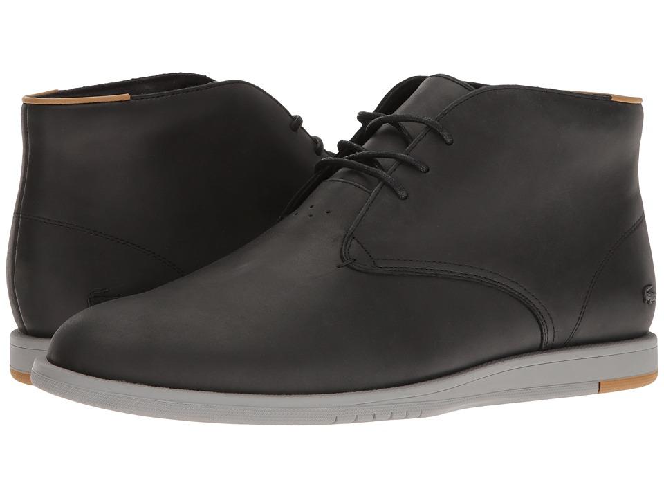 Lacoste Laccord Chukka 117 1 Cam (Black) Men