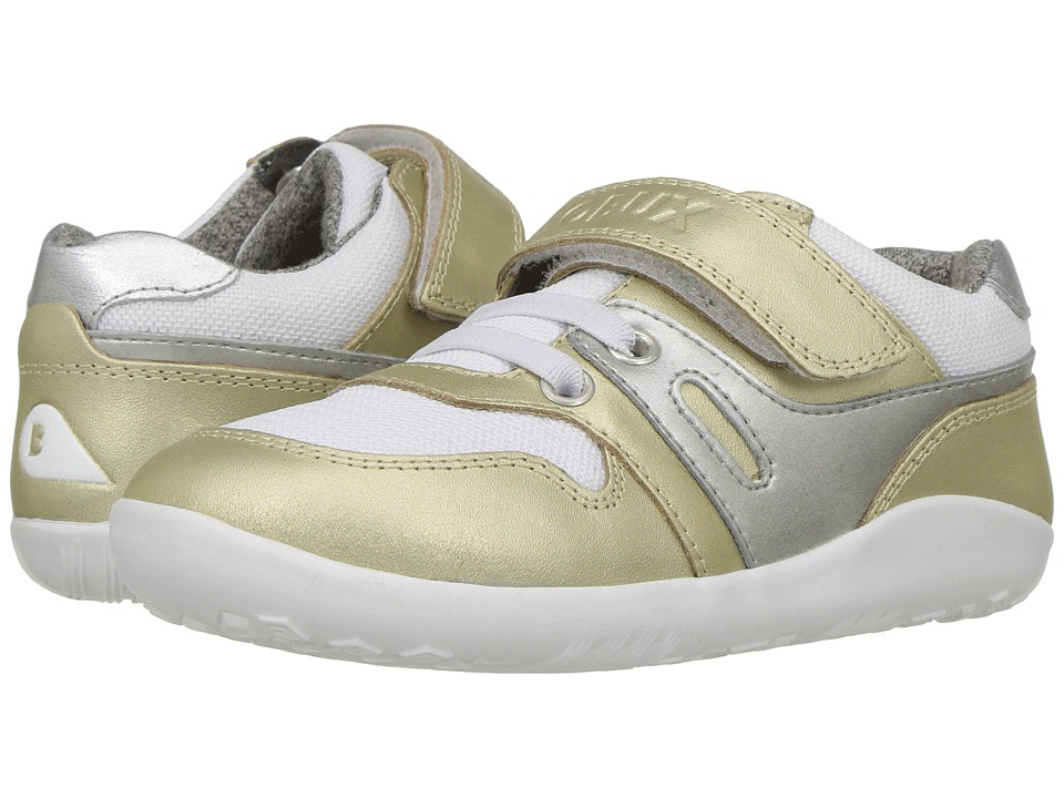 Bobux Kids - Kid+ Street Tune (Toddler/Little Kid) (Gold) Girls Shoes