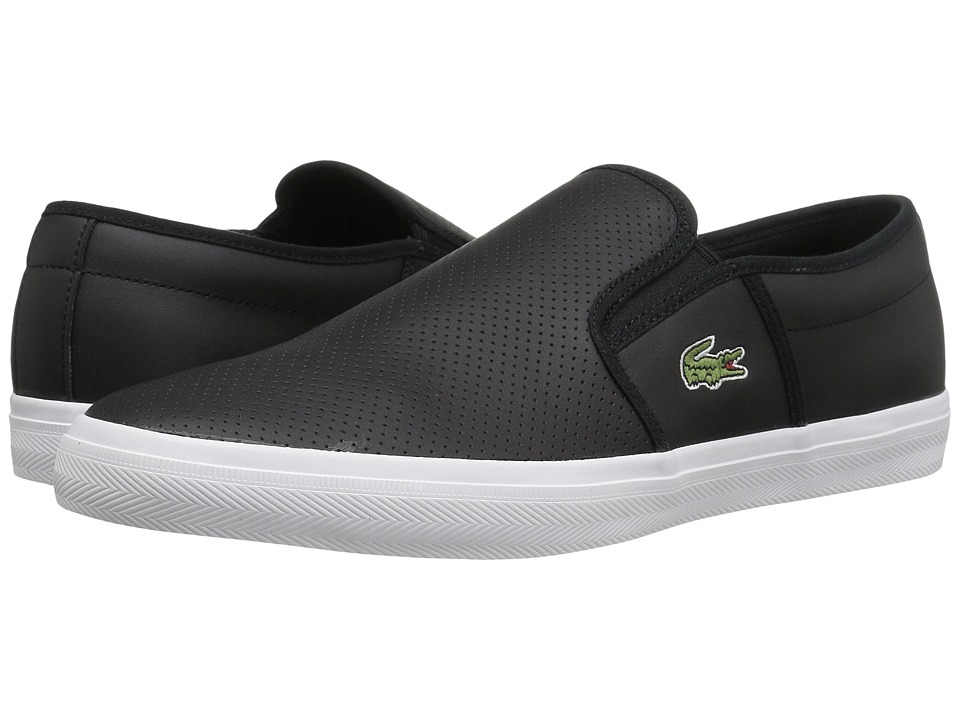 Lacoste - Gazon BL 1 Cam (Black) Mens Shoes