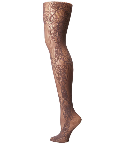 Wolford Net Lace Tights - Mole