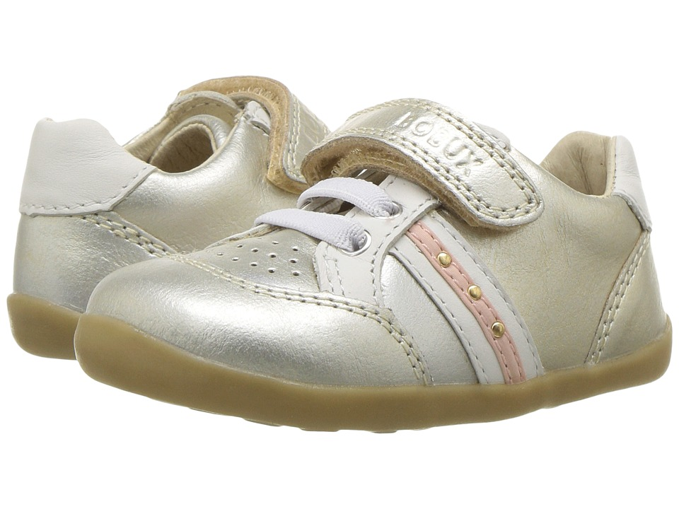 Bobux Kids Step Up Classic Trackside (Infant/Toddler) (Molten Gold) Girl's Shoes