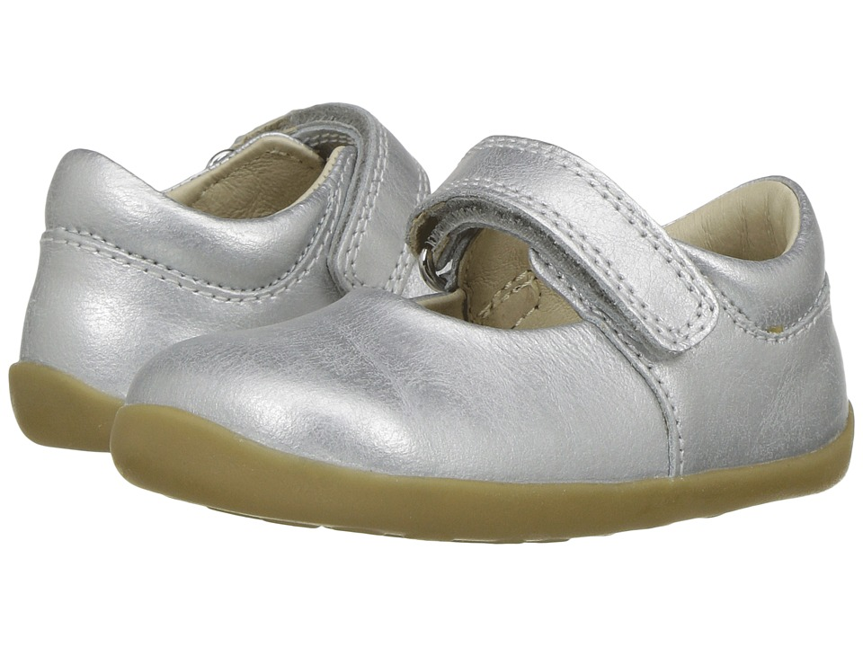 Bobux Kids - Step Up Classic Dance (Infant/Toddler) (Silver) Girls Shoes