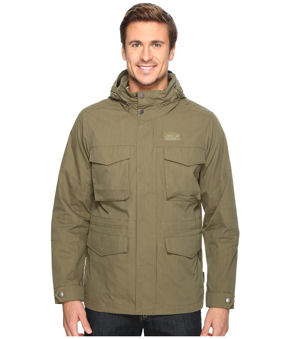 Jack Wolfskin Freemont Field Jacket (Burnt Olive) Men