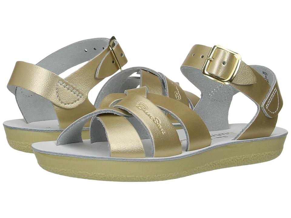 Salt Water Sandals Swimmer (Toddler/Little Kid) (Gold) Girls Shoes
