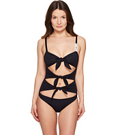 Moschino - Basic Tie Front Maillot