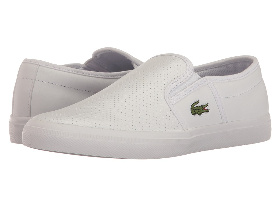Lacoste Gazon BL 1 Cam (White) Men