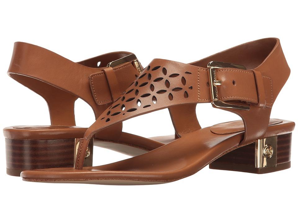 b3c15d847553  59.00 More Details · MICHAEL Michael Kors - London Thong (Acorn Vachetta  Perf) Women s Sandals