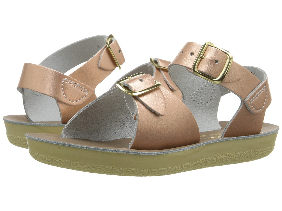 Salt Water Sandal by Hoy Shoes Sun-San Surfer (Toddler/Little Kid) (Rose Gold) Girls Shoes