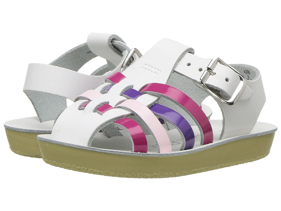 Salt Water Sandals Sun-San Sailors (Infant/Toddler) (Multi) Girls Shoes