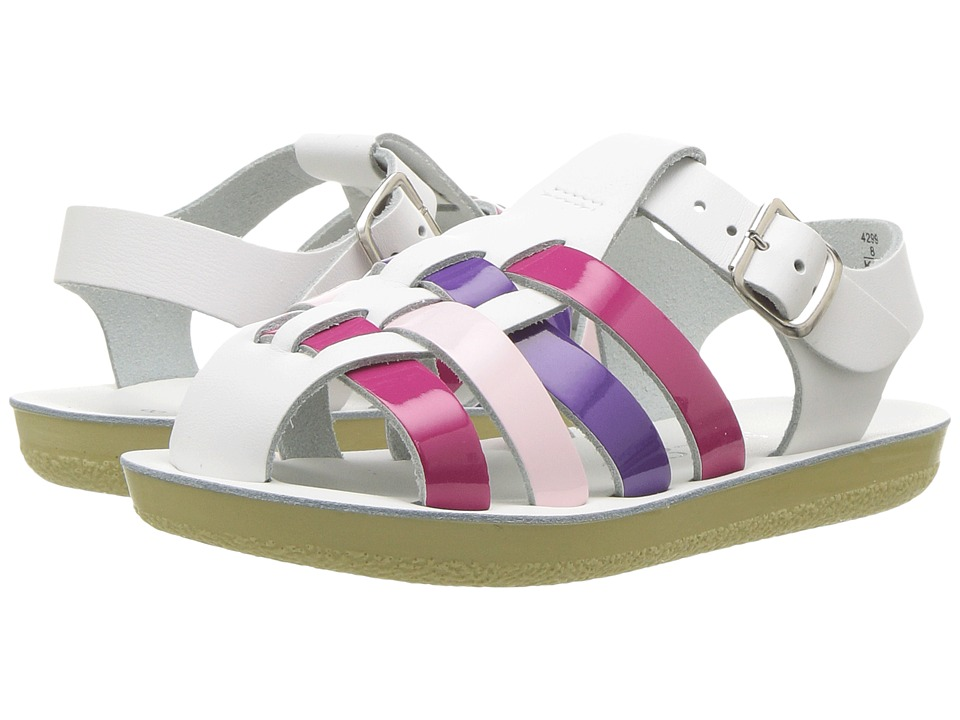 Salt Water Sandals Sun-San Sailors (Toddler/Little Kid) (Multi) Girls Shoes