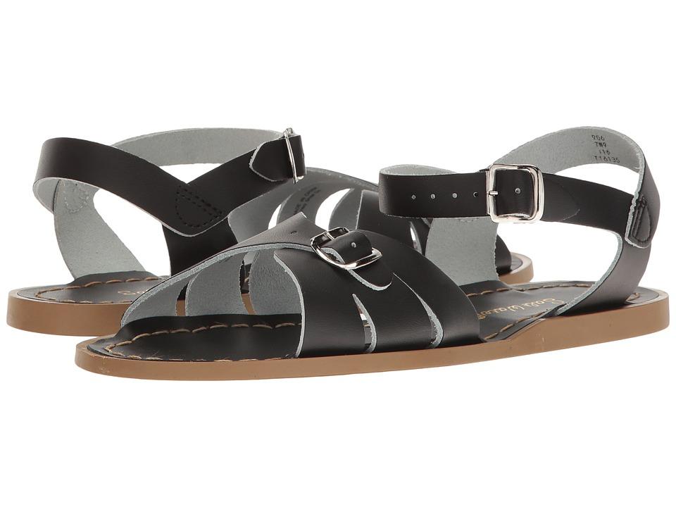 Salt Water Sandals Classic (Big Kid/Adult) (Black) Girls Shoes