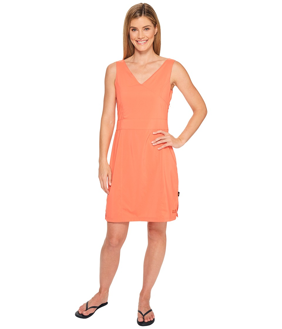 Jack Wolfskin Wahia Dress (Hot Coral) Women
