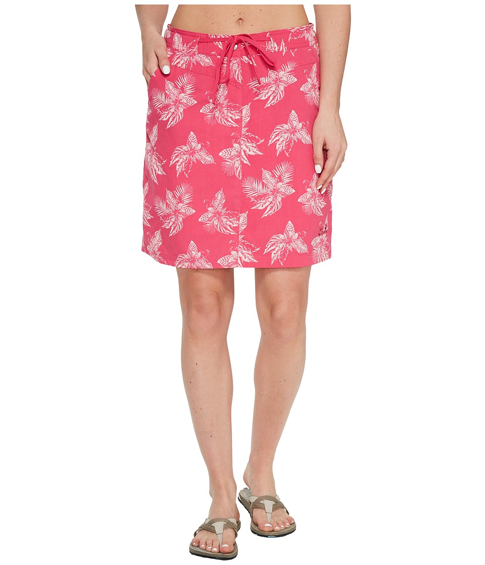 Jack Wolfskin Pomona Tropical Skort (Tropic Pink All Over) Women