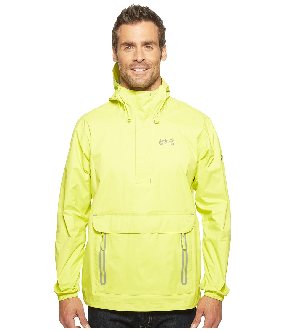 Jack Wolfskin Cloudburst Smock (Flashing Green) Men