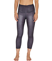 Lucy - Indigo High-Rise Yoga Capri Leggings