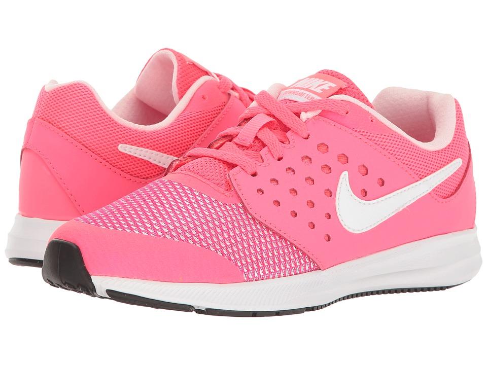 Nike Kids Downshifter 7 (Little Kid) (Racer Pink/White/Prism Pink/Black) Girls Shoes