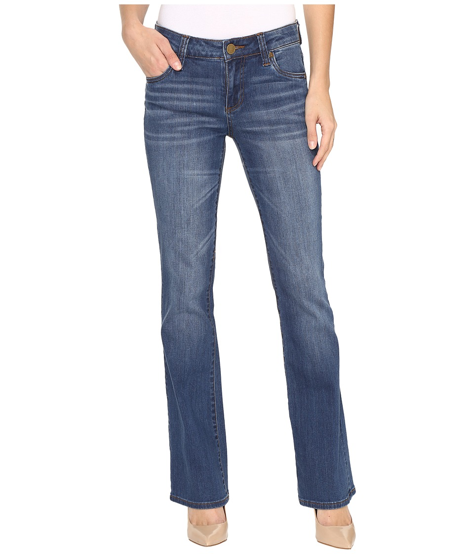 KUT from the Kloth Natalie High-Rise Bootcut in Inclusion (Inclusion/Medium Base Wash) Women