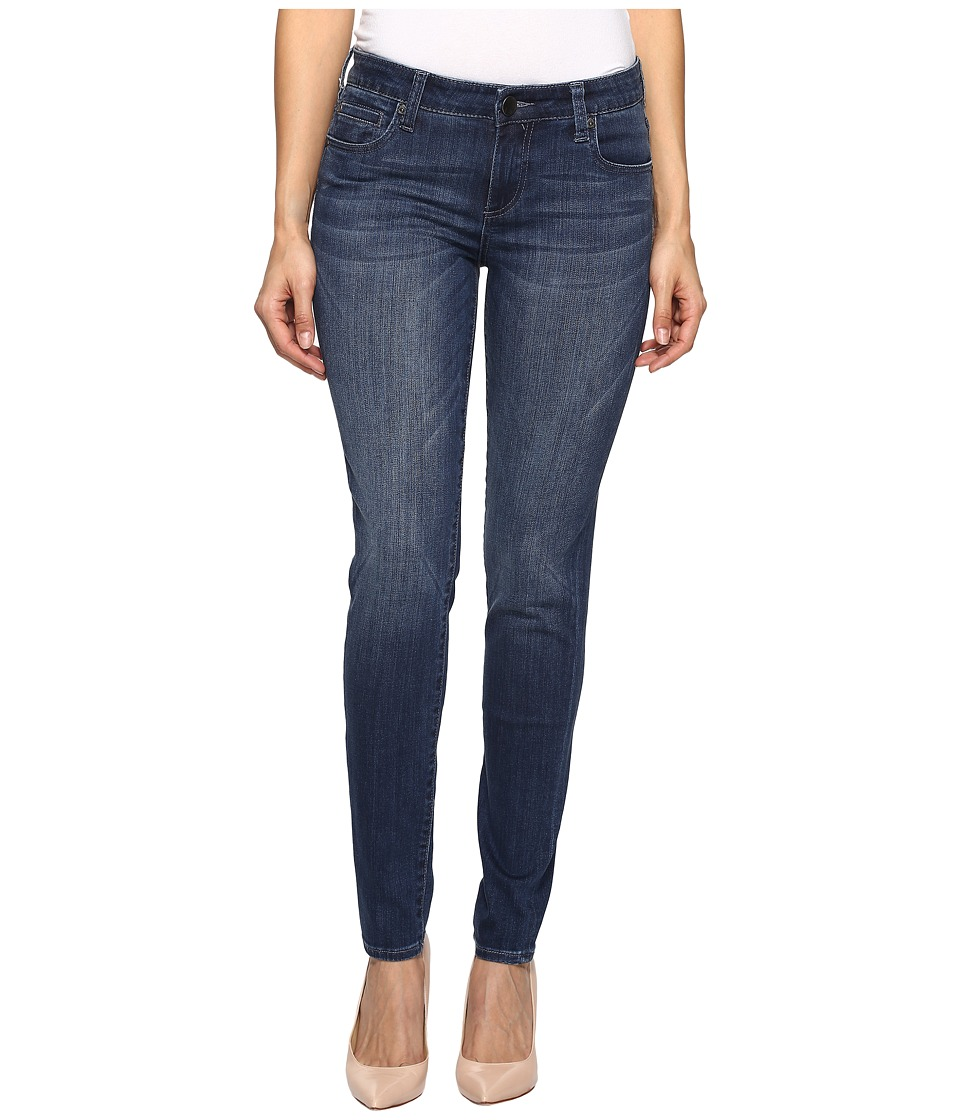 KUT from the Kloth Diana Skinny in Moderation (Moderation/Dark Stone Base Wash) Women