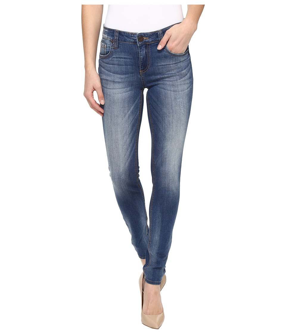 KUT from the Kloth Mia Toothpick Skinny in Exotic (Exotic/Medium Base Wash) Women
