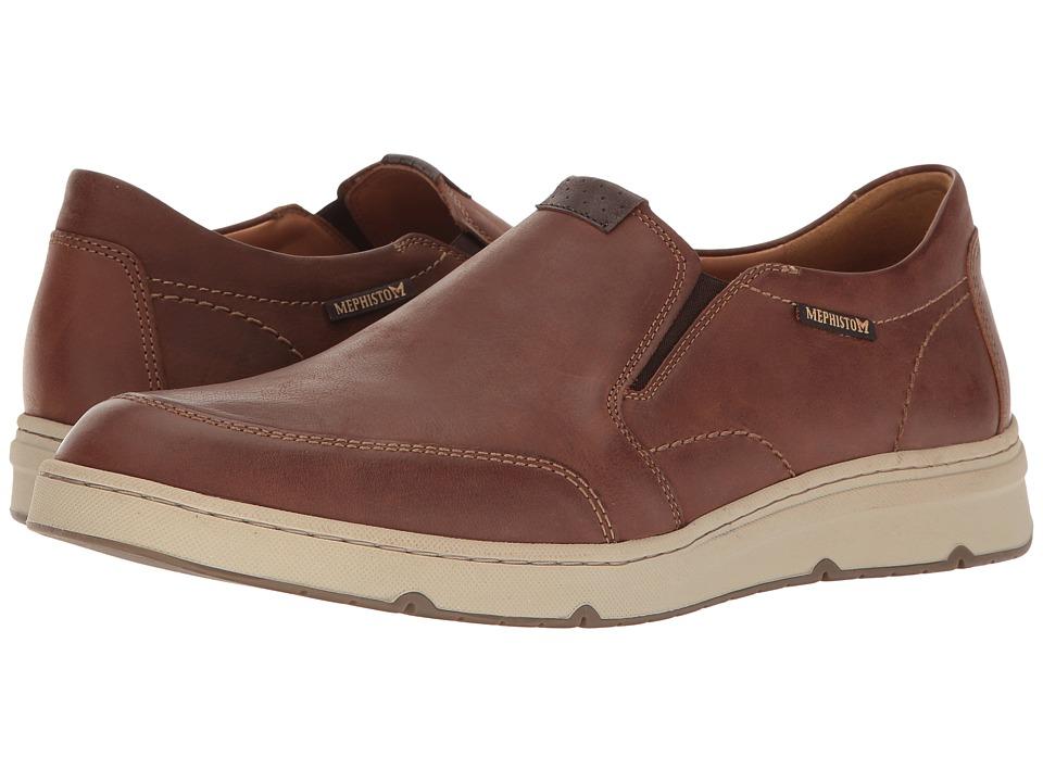 Mephisto - Joss (Hazelnut/Dark Brown Kansas) Mens Slip on  Shoes