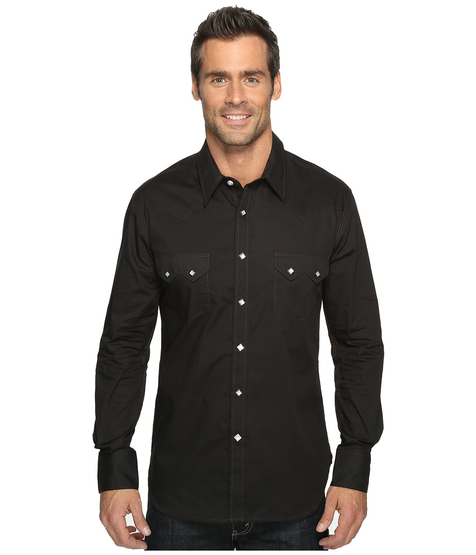 Rock and Roll Cowboy - Long Sleeve Snap B2S9063