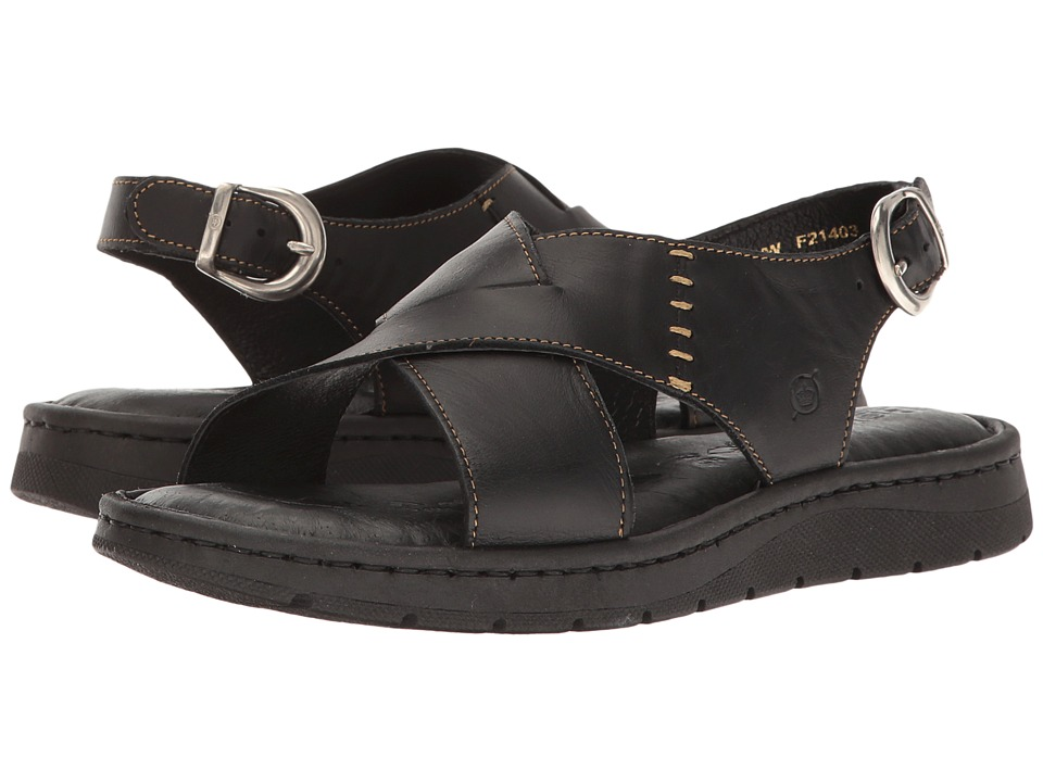 Born Balanga (Black Full Grain) Women