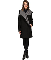 Vince Camuto - Cascading Front Wool Coat L8511