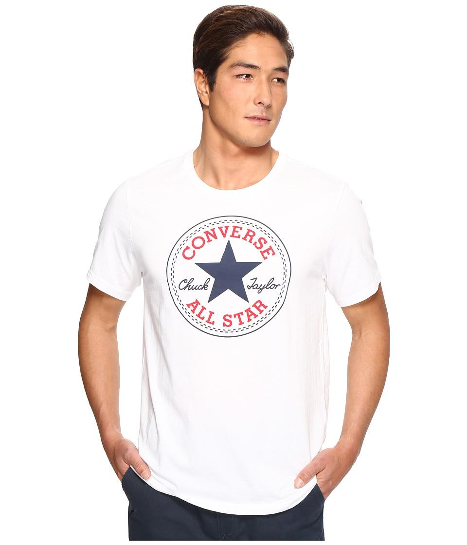 Converse Core Chuck Patch Tee (White) Men