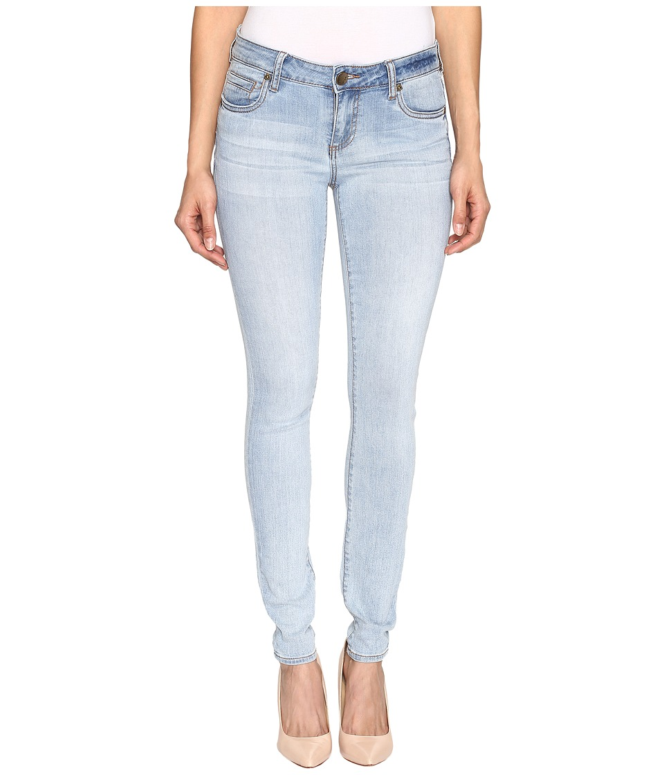 KUT from the Kloth Mia Toothpick Skinny Five-Pocket in Expectation (Expectation/Light Base Wash) Women