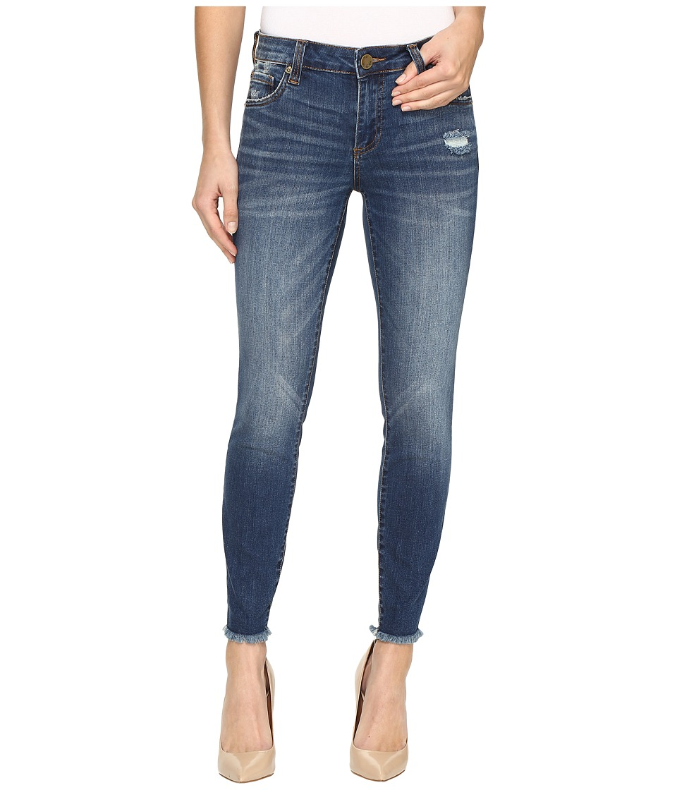 KUT from the Kloth Connie Ankle Skinny in Harmonic (Harmonic/Medium Base Wash) Women