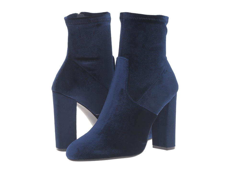 Steve Madden - Edit (Navy Velvet) Women
