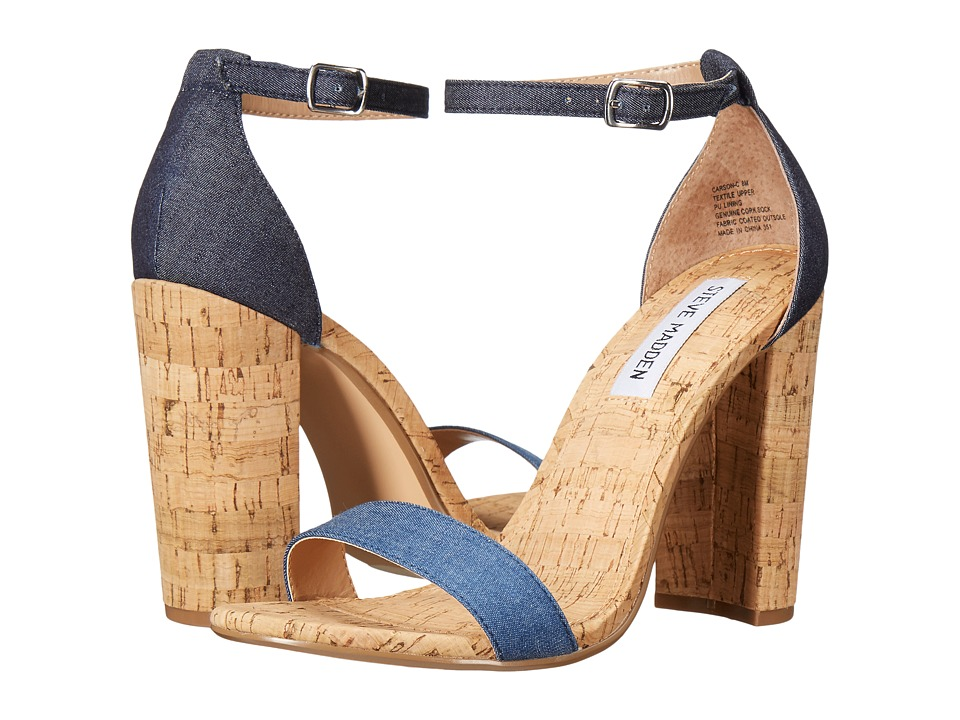 Steve Madden Carson-C (Denim Fabric) Women