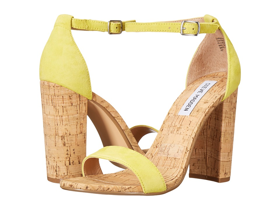 Steve Madden Carson-C (Yellow Suede) Women