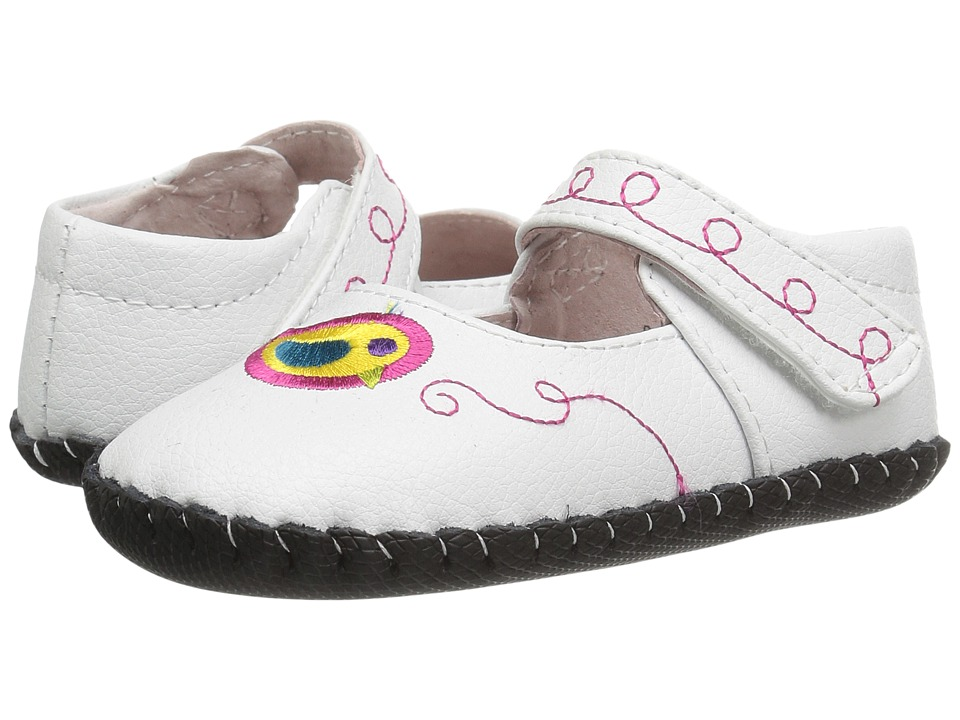 pediped Charlotte Originals (Infant) (White Multi) Girl's Shoes